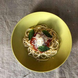 Kinder Pasta Bolognese